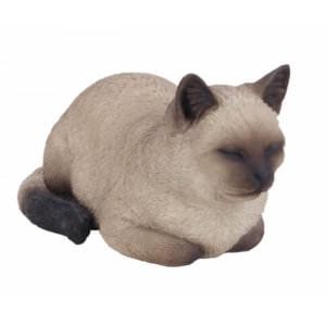 Διακοσμητικό ομοίωμα γάτας Real Life Dreaming Cat Cream