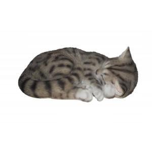 ΔΙΑΚΟΣΜΗΤΙΚΟ ΟΜΟΙΩΜΑ ΓΑΤΑΣ REAL LIFE DREAMING CAT