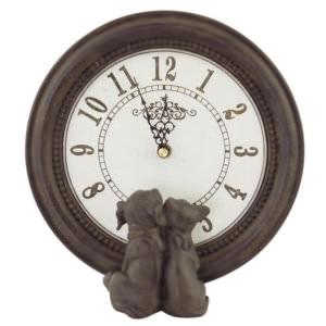Clock Dog & Cat