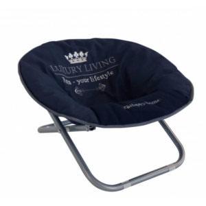 Chair Luxury Living Dark Blue