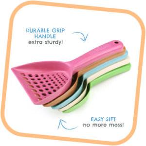 Beco tray scoop
